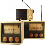Magno Wooden Radio in den drei verschiedenen Größen