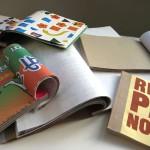 Wie aus Müll etwas Schönes wird: Rescued Paper Notebooks