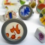 Weihnachtliche nachhaltige Geschenkideen - Porzellanringe - DaWanda