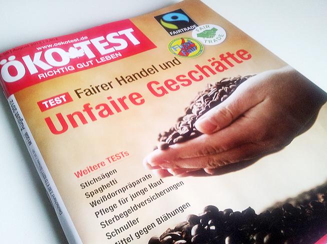 Ökotest Ausgabe August 2012